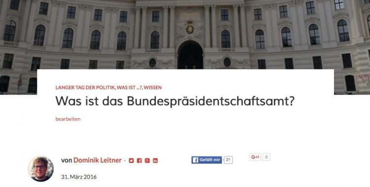 Bundespräsidentschaftsamt